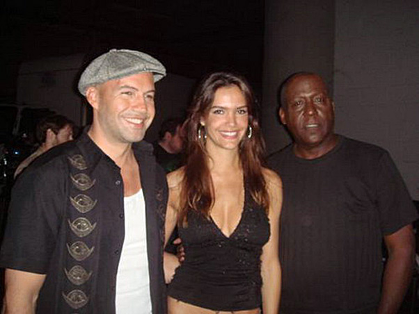 Billy Zane, Camila Alves e Richard Roundtree