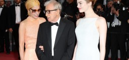 Emma Stone e Woody Allen cruzam red carpet do festival de cinema