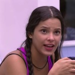 Emilly na casa do BBB 17 (Foto: GShow)