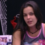 Emilly na casa do BBB (Foto: GShow)
