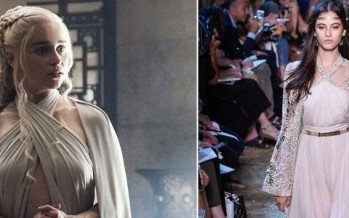 Desfile couture da grife Elie Saab é inspirado por figurino de 'Game of Thrones'