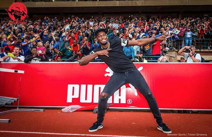 Bolt é recordista do mundo das provas do 100m e 200m de atletismo. (Foto: Instagram)