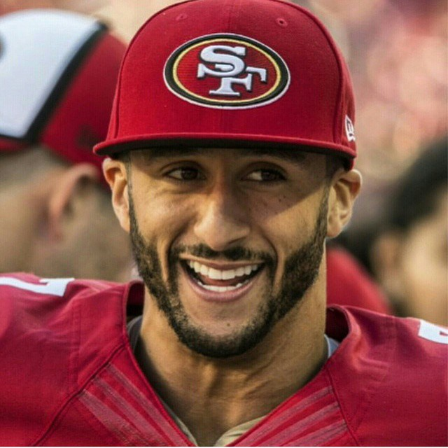"A campanha marca os 30 anos do slogan ""Just Do It"" (Foto: Instagram/@kaepernick7)"