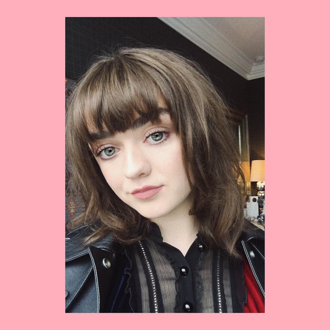 Maisie Williams, de 21 anos, a Arya Stark (Foto: Instagram/@maisie_williams)