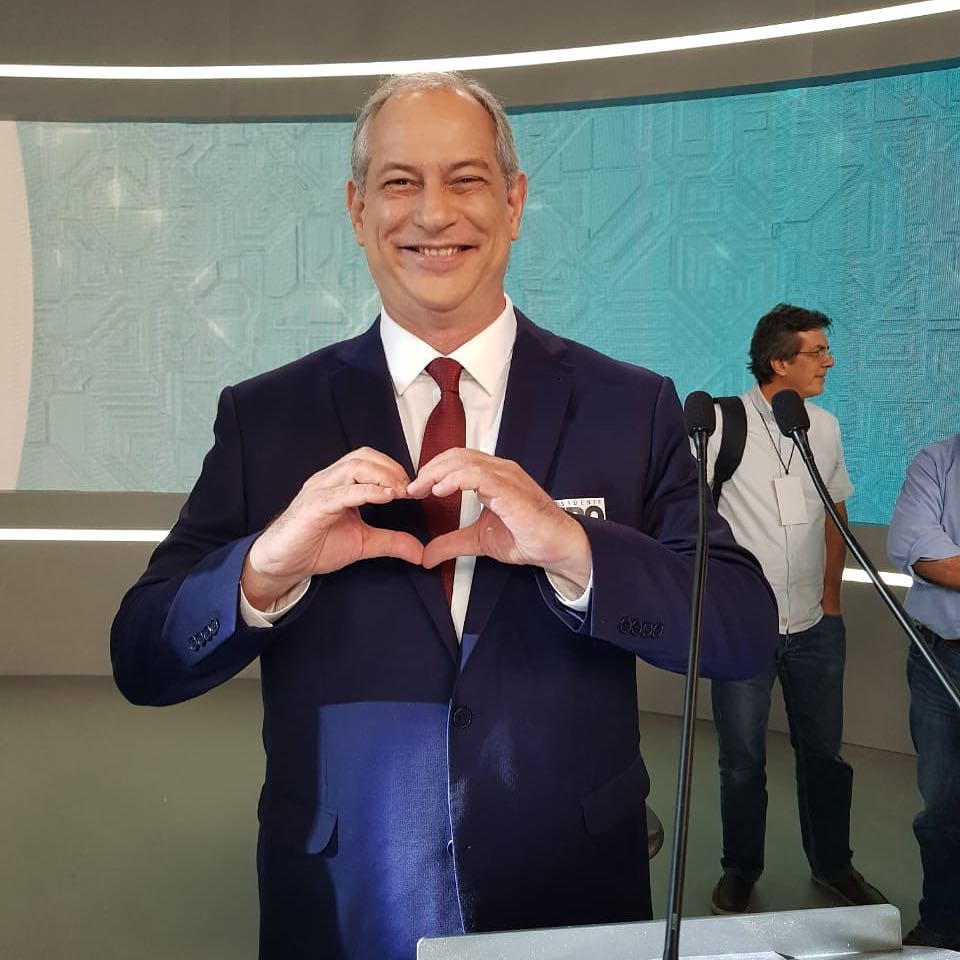 Ciro Gomes, do PDT (Foto: Instagram/@cirogomes)