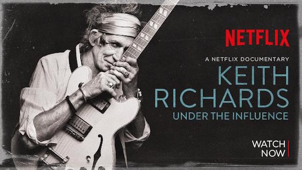 Keith Richards Under The Influence (2015) (Foto: Divulgação)