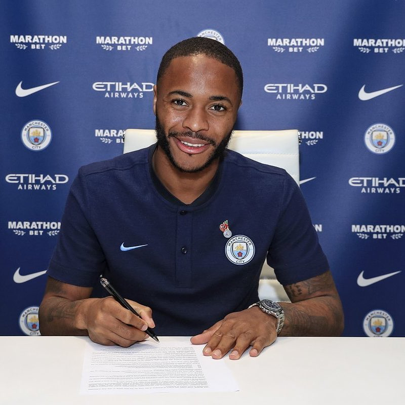 19. Raheem Sterling (Foto: Instagram/@sterling7)