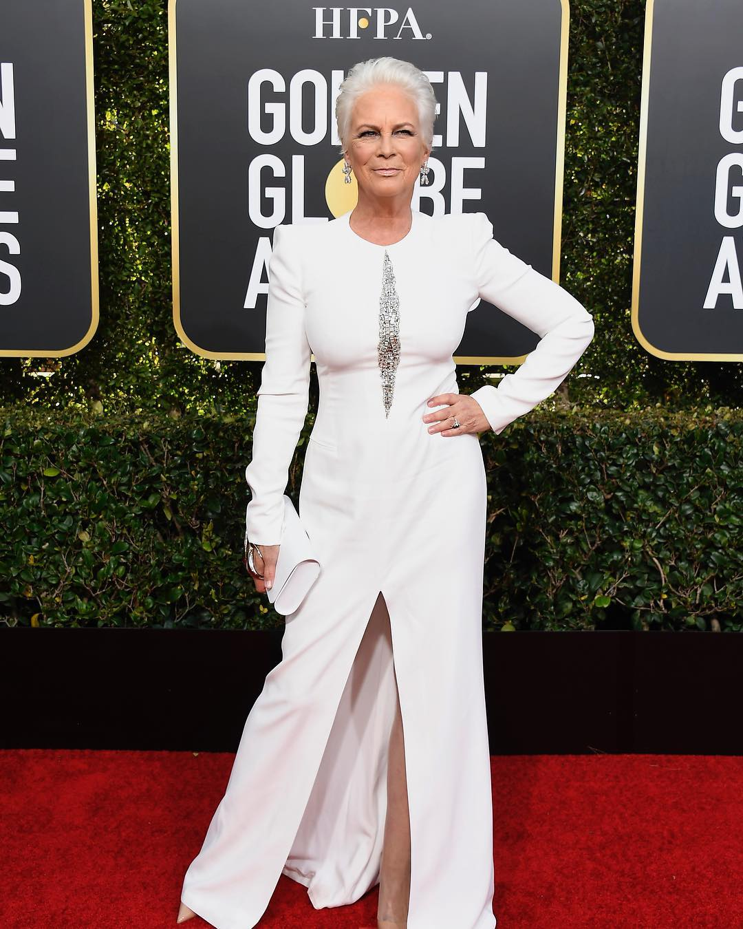 Jamie Lee Curtis (Foto: Instagram/@goldenglobes)