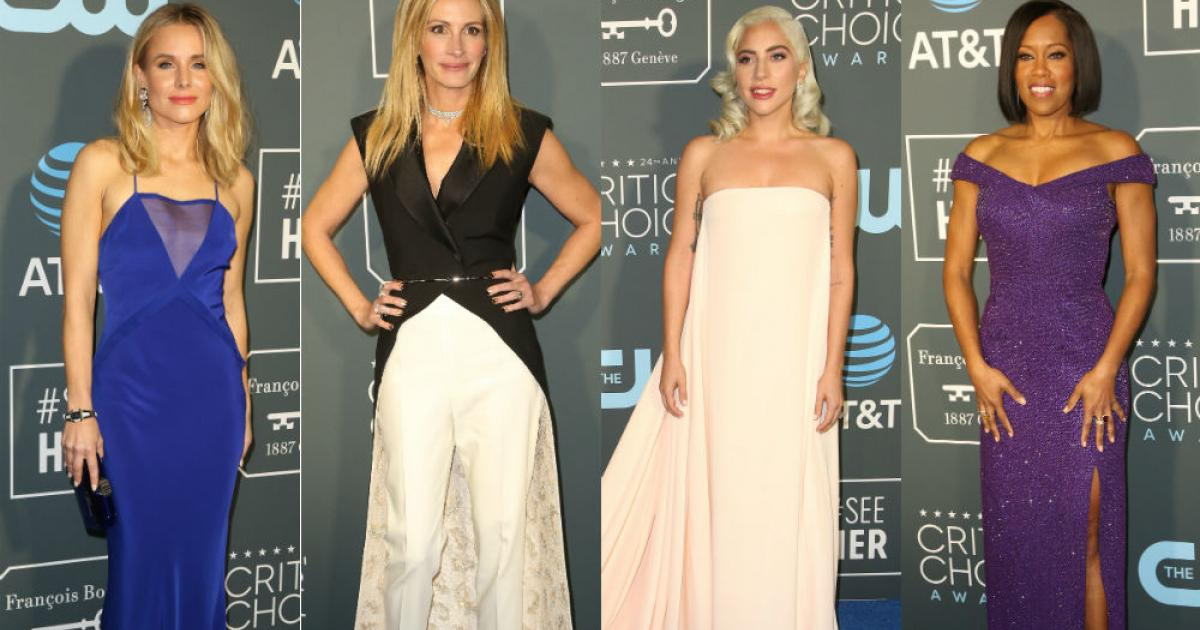 As famosas arrasaram no Critics' Choice Awards (Foto: Divulgação)