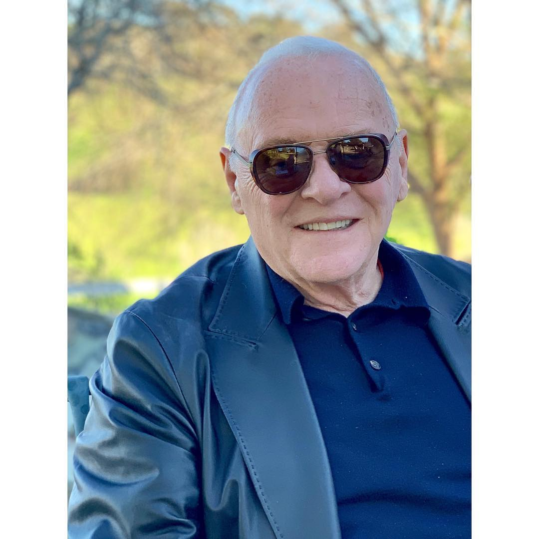 O papel ficou com Anthony Hopkins, de 81 anos (Foto: Instagram/@anthonyhopkins)