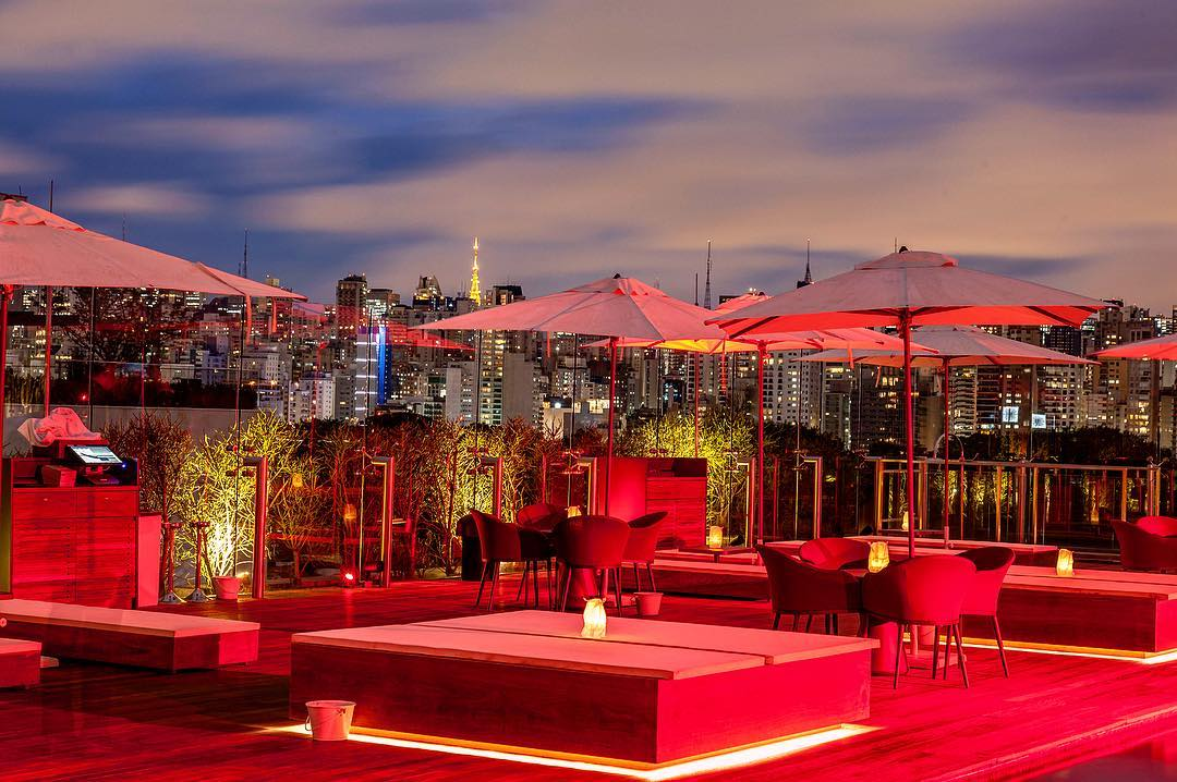 Sky Bar (Foto: Instagram/@hotelunique)