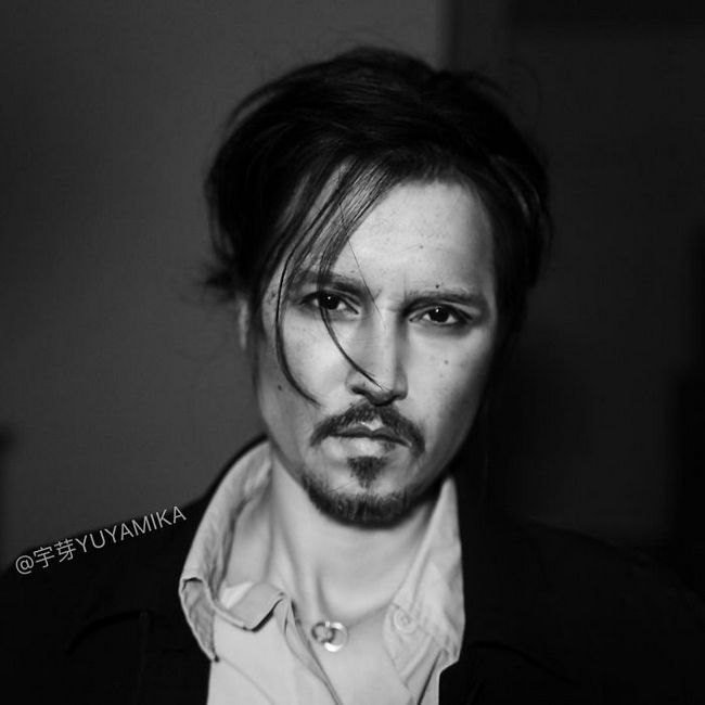 Johnny Depp (Foto: Instagram/@yuyamika7)