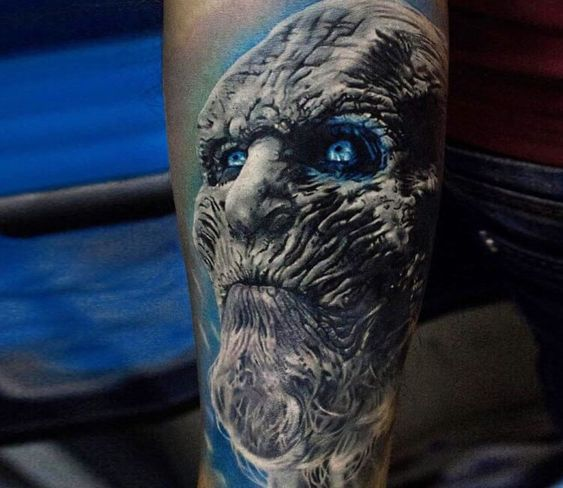 O temido White Walker (Foto: Pinterest)