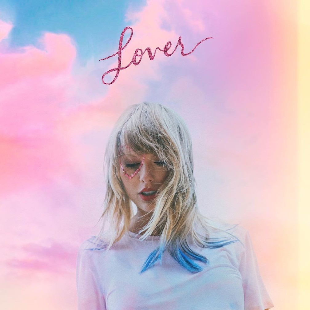 Capa do álbum Lover. (Foto: Instagram/@taylorswift)