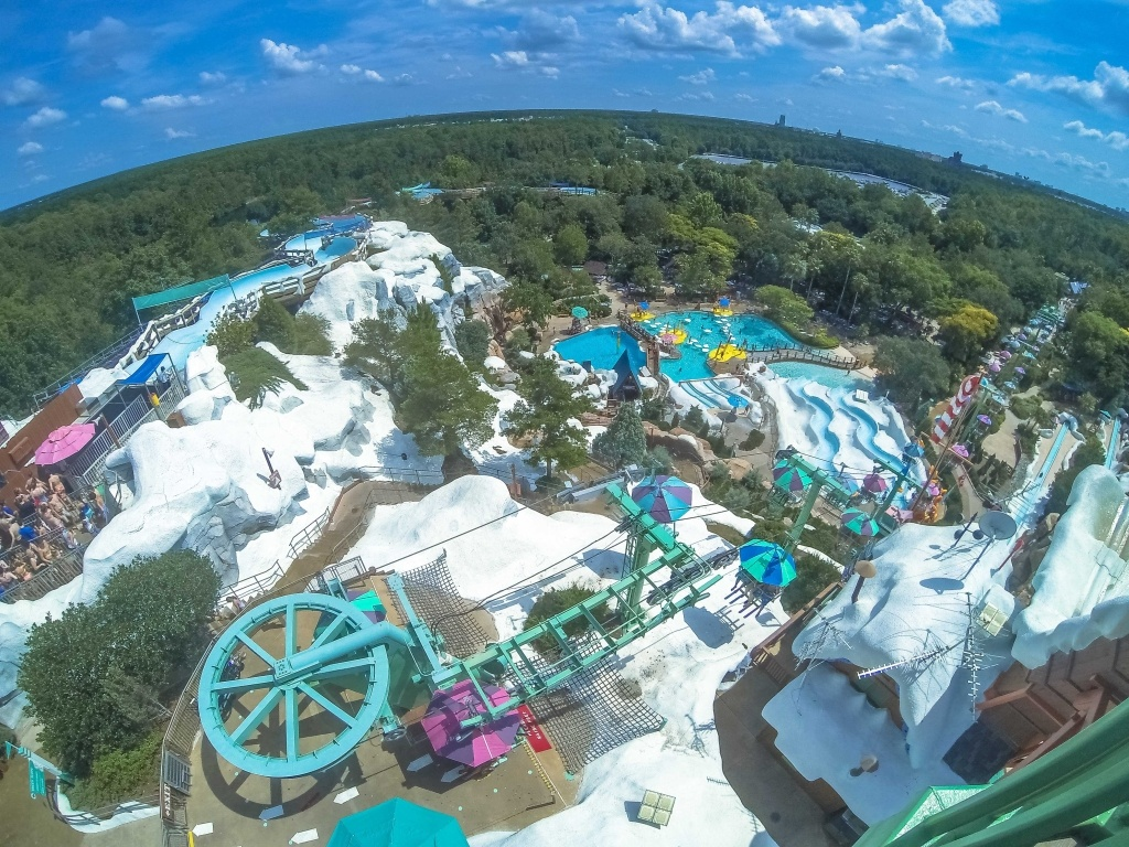 Disney's Blizzard Beach, Disney, Brasil