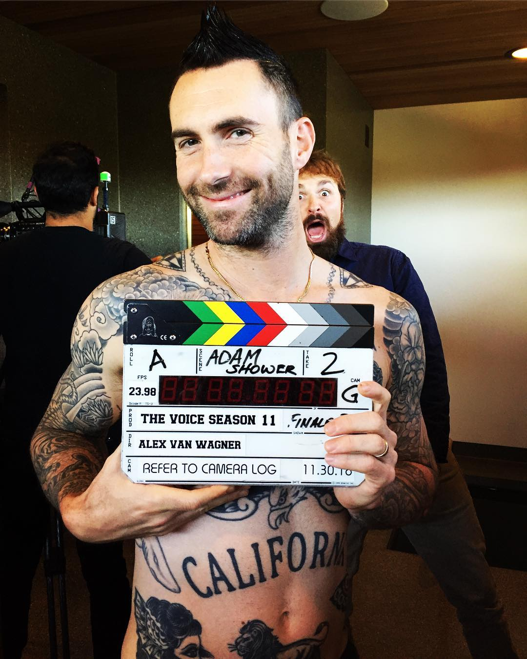 Adam Levine não é mais jurado do The Voice (Foto: Instagram/@adamlevine)
