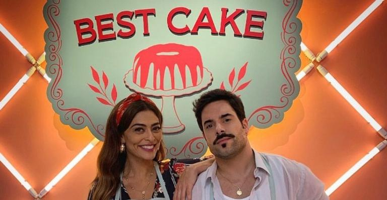 Maria e Abel no Best Cake (Foto: TV Globo)