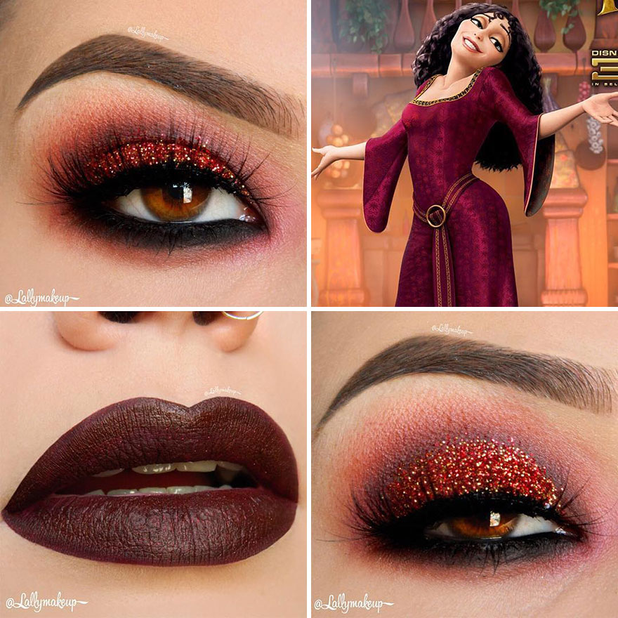 Mother Gothel (Foto: Instagram/@lallymakeup)