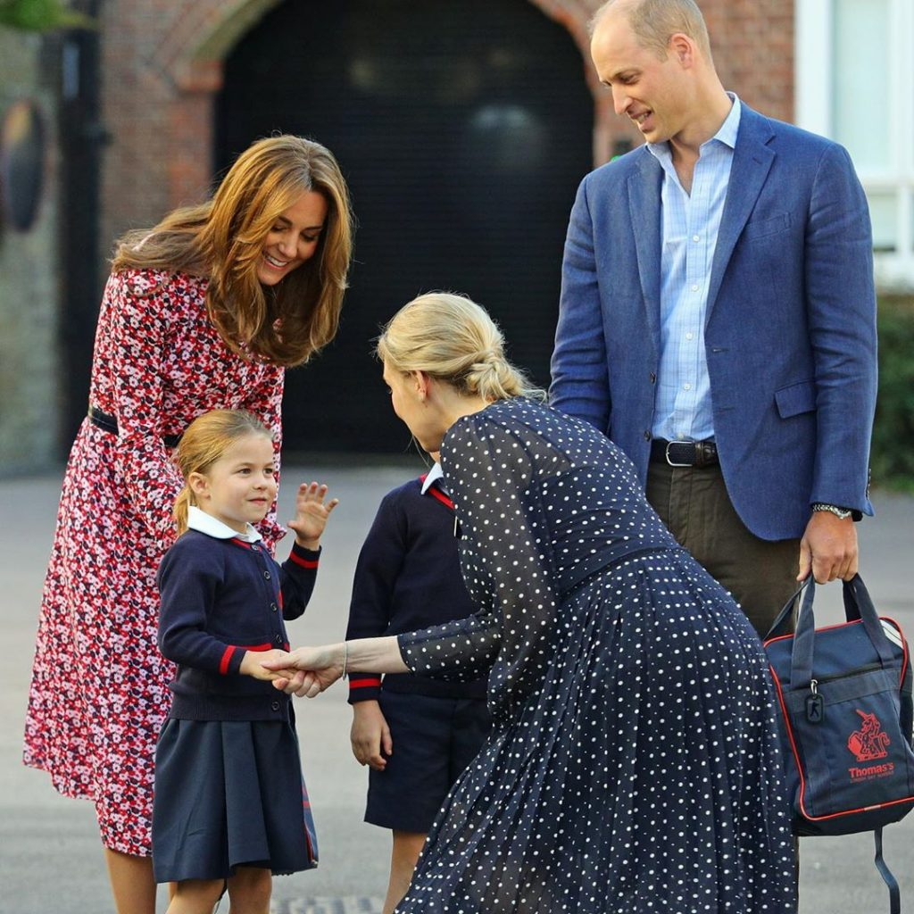 Dentre elas o príncipe George. (Foto: Instagram/@kensingtonroyal).
