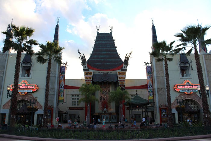 The Great Movie Ride simbolizava a estética dos estúdios de Hollywood (Foto: Divulgação)