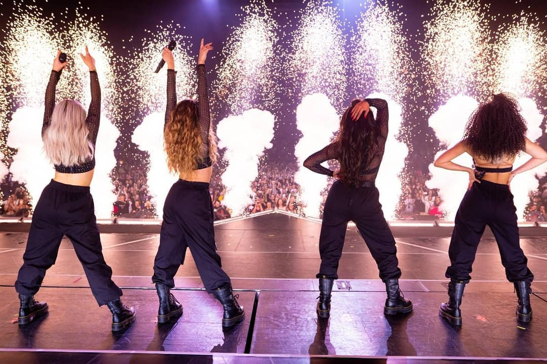Os shows do Little Mix são muito animados! (Foto: Instagram/@littlemix)