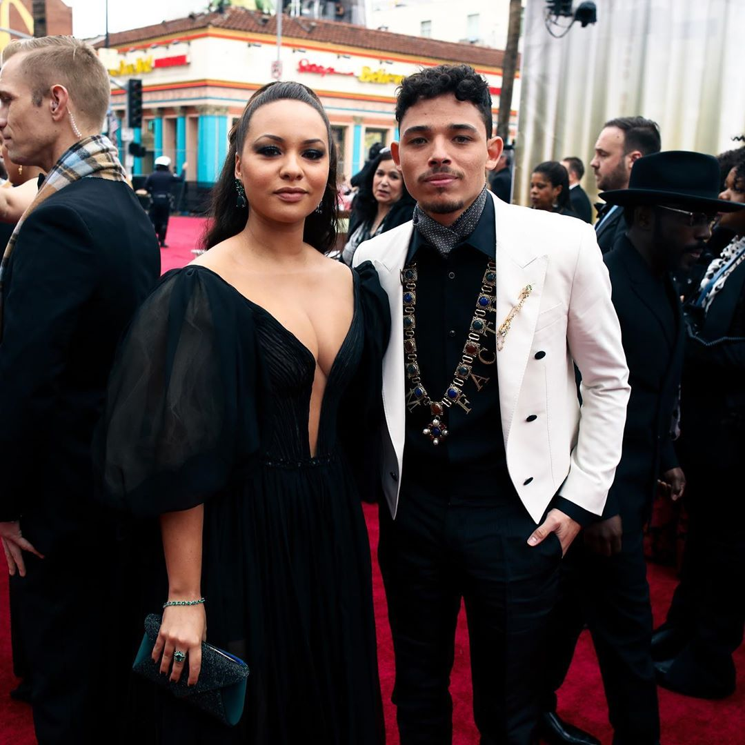 Jasmine Cephas Jones e Anthony Ramos (Foto: Instagram/@theacademy)