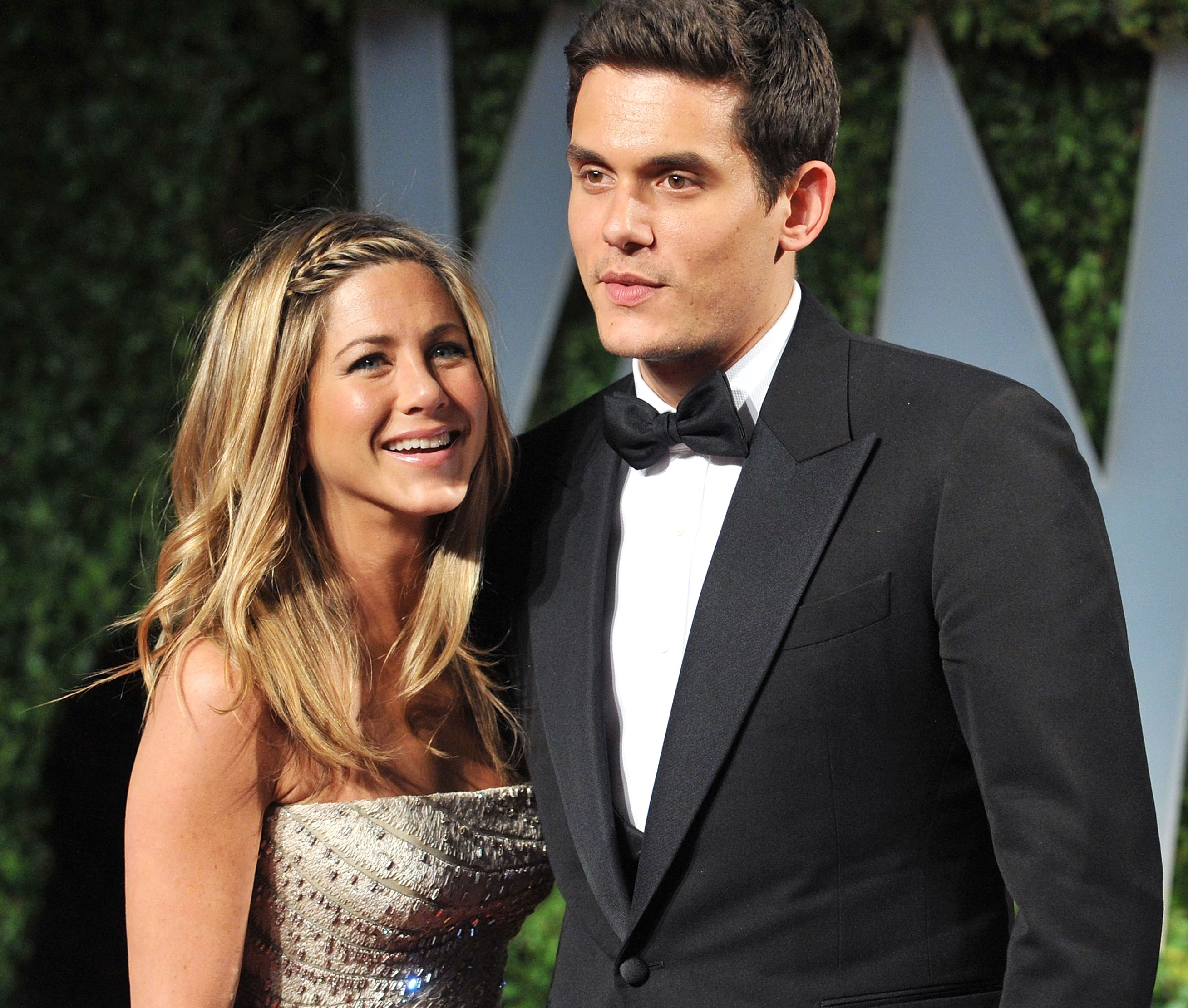Jennifer Aniston's comments on the live of her ex-boyfriend, John Mayer, and if you have fun with that joke of a singer
