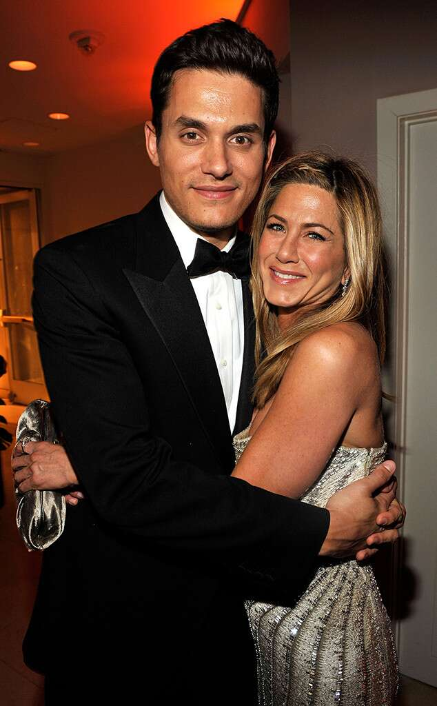 Once you have proven that you maintain a good relationship with her ex-husband, Brad Pitt, Jennifer Aniston has shown that it remains a friend of John Mayer, the ex-girlfriend of the actress ' (Photo: Disclosure)