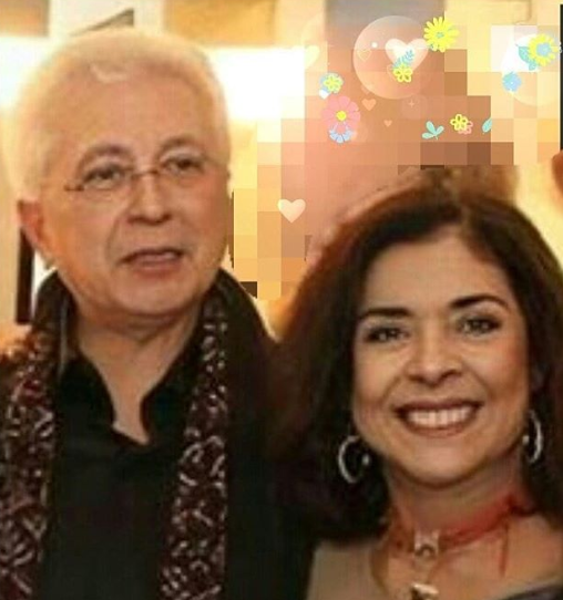 Aguinaldo Silva e Betty Faria (Foto: Instagram/@bettyfariaoficial)