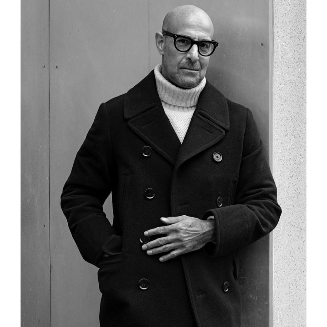 E Stanley Tucci (Foto: Instagram/@stanleytucci)