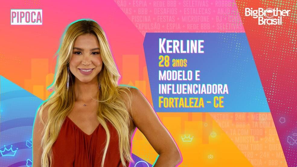 Kerline - Modelo e influenciadora, Kerline, de 28 anos, teve que abrir mão do sonho de ter uma empresa após cair em um golpe e contrair uma dívida. Ela é do grupo Pipoca. (Foto: Globo)