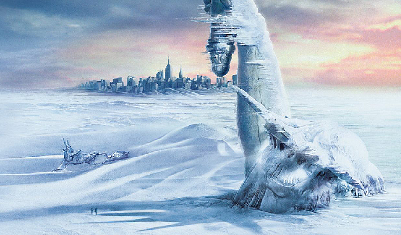O Dia Depois de Amanhã: Esse é um filme forte para pensar nas mudanças climáticas que afetam diretamente a Terra, modificando a vida humana. Com o mundo passando por uma nova Era Glacial, as pessoas começam a migrar para a parte Sul do globo. No entanto, Jack Hall (Dennis Quaid) ainda precisa salvar seu filho, Sam (Jake Gyllenhaal), que está preso em uma biblioteca de Nova York (Foto: Divulgação)