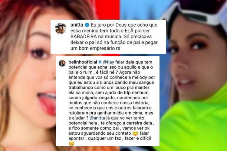 Ela comentou em uma publicação sobre o aniversário de MC Melody, que está prestes a completar 14 anos. (Foto: Reprodução/ Instagram)