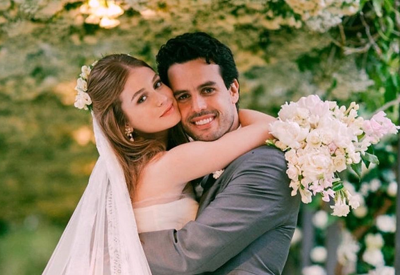 Acabou! Depois de boatos e especulações, chegou ao fim o casamento de Marina Ruy Barbosa e Xande Negrão. (Foto: Instagram/ @marinaruybarbosa)
