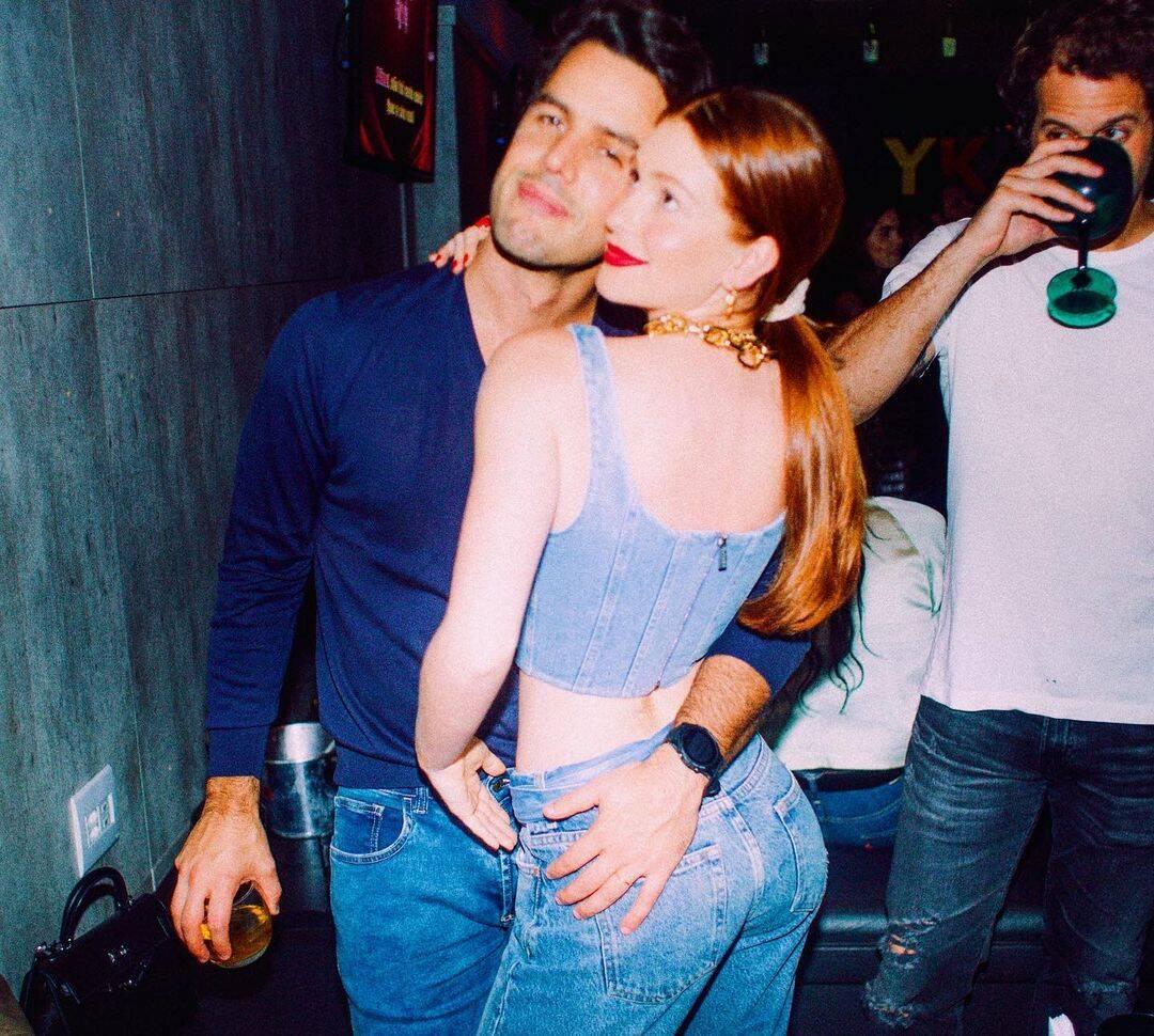 """""""A decisão ainda é muito recente e, por eles, nada disso seria divulgado neste momento. Mas em respeito ao público e à imprensa - que sempre acompanhou a vida do casal com carinho e apoio -, resolveram anunciar que estão separados"""" (Foto: Instagram/ @marinaruybarbosa)"""