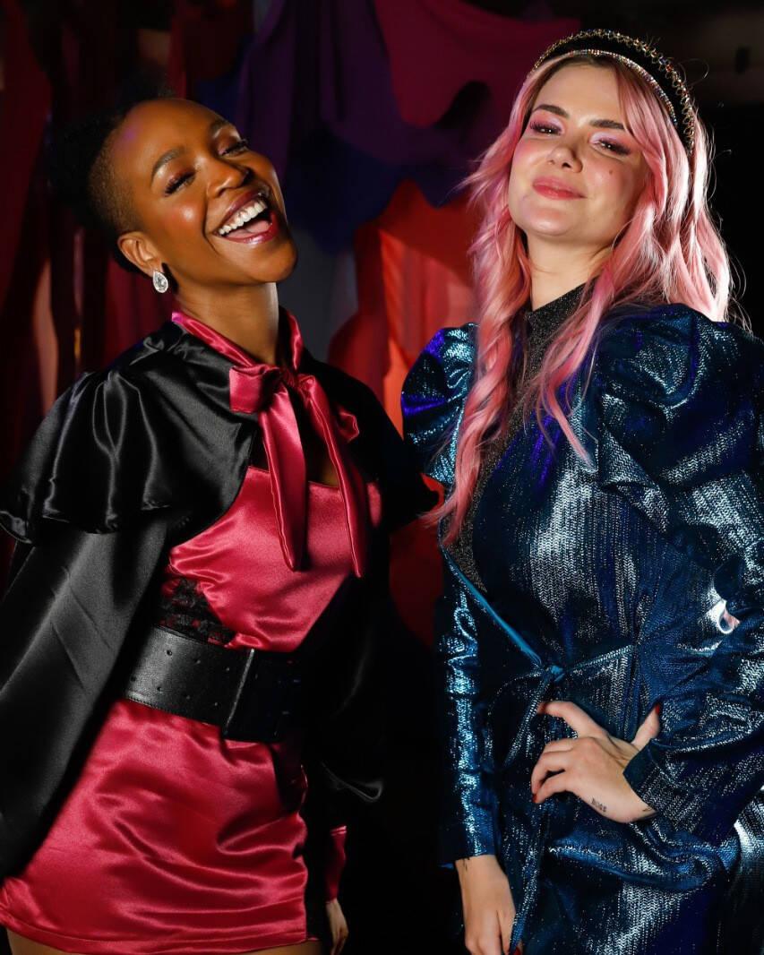 O programa 'Prazer, feminino', do canal GNT, que Karol Conká apresentava ao lado da ex-BBB Marcela McGowan, foi cancelado por conta da emissora. (Foto: Instagram)