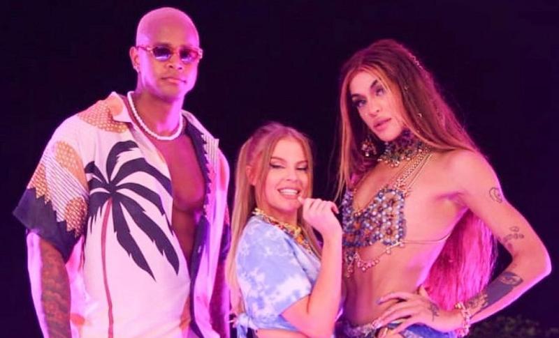 """Pabllo Vittar e Luísa Sonza mandam recado para a cantora Pocah no BBB 21: """"Volta a dormir"""