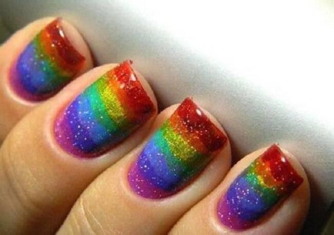 Arco-íris. (Foto: Reprodução/ Pinterest)