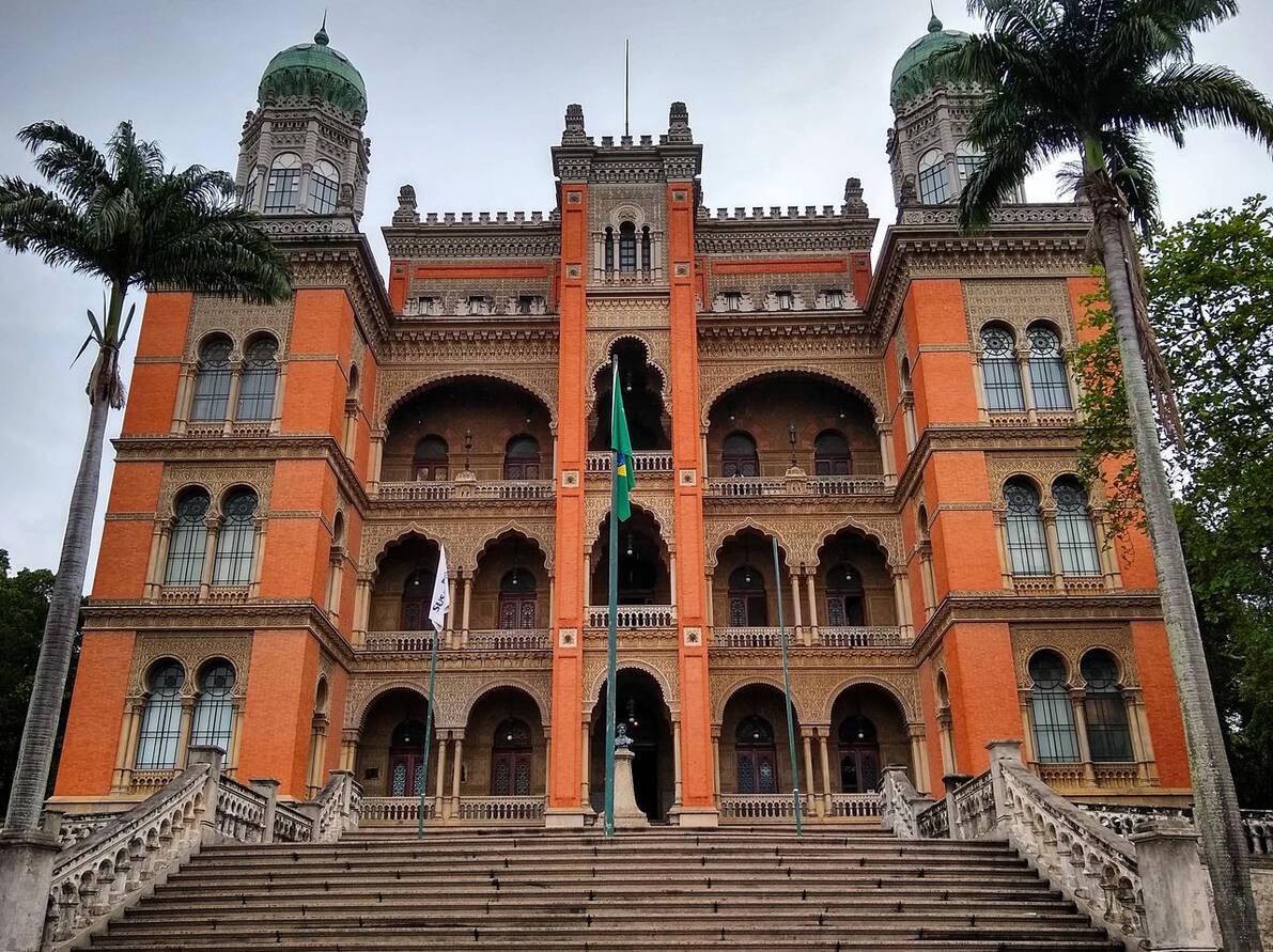 Castelo Mourisco da Fiocruz erguido em 1918 (Foto: Fiocruz / Ministério da Saúde)