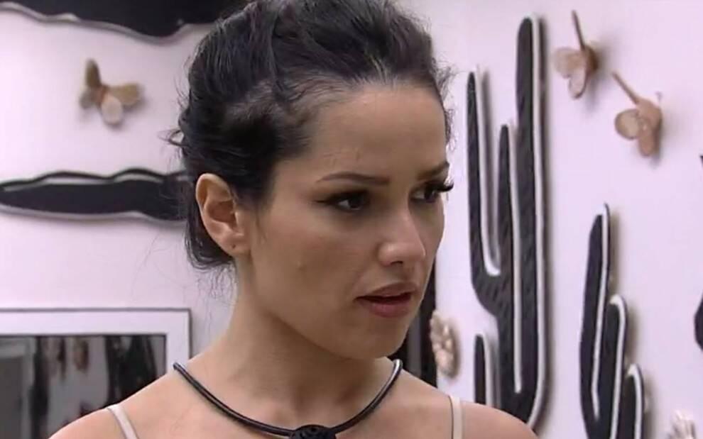 Juliette reprovou o comportamento de Arthur, voltando a afirmar que ele é agressivo. (Foto: Globo)