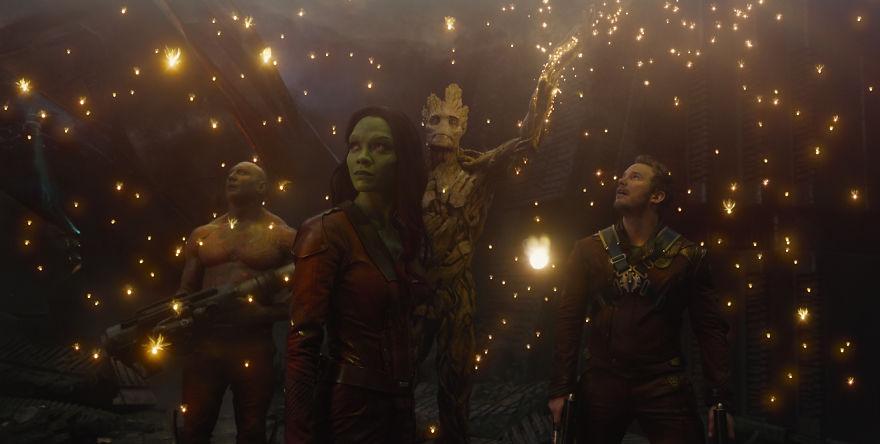 """Nesta segunda-feira (05) a Marvel anunciou que as gravações do filme """"Guardiões da Galáxia"""" começam em 2021. (Foto: Reprodução/ Marvel)"""