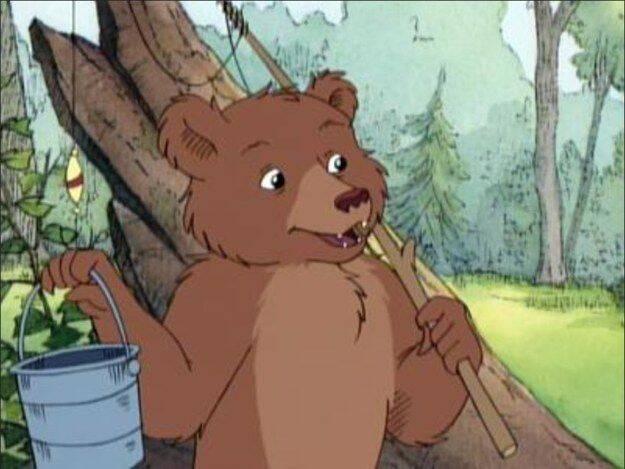 As Aventuras do Pequeno Urso (Foto: Reprodução/ Pinterest)