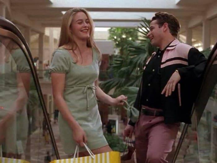 As Patricinhas de Beverly Hills (1995) No filme Paul fez Josh, o interesse amoroso de Cher, a personagem principal. A produção alavancou a carreira do ator e fez muitos se apaixonarem por ele. (Foto: Reprodução/ Pinterest)