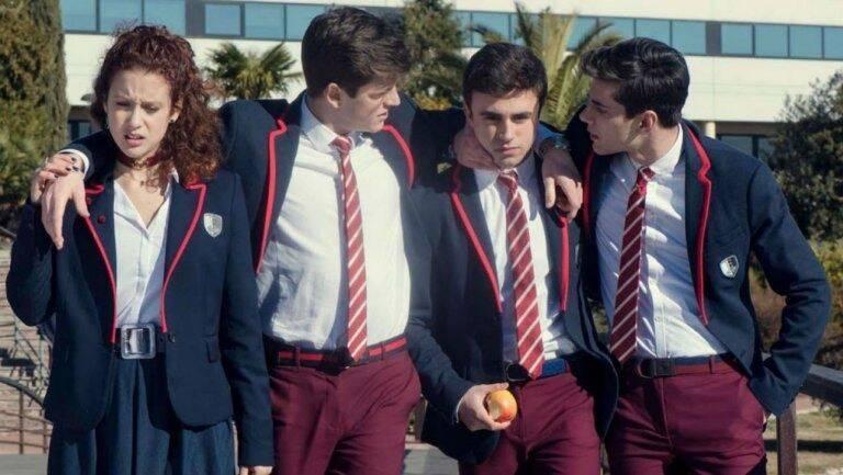 Com a troca de personagens e atores, o elenco da série ganhou uma nova cara. (Foto: Reprodução/ Netflix)
