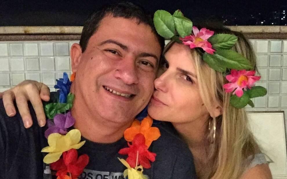 Tom e sua ex-mulher. (Foto: Reprodução/Instagram)