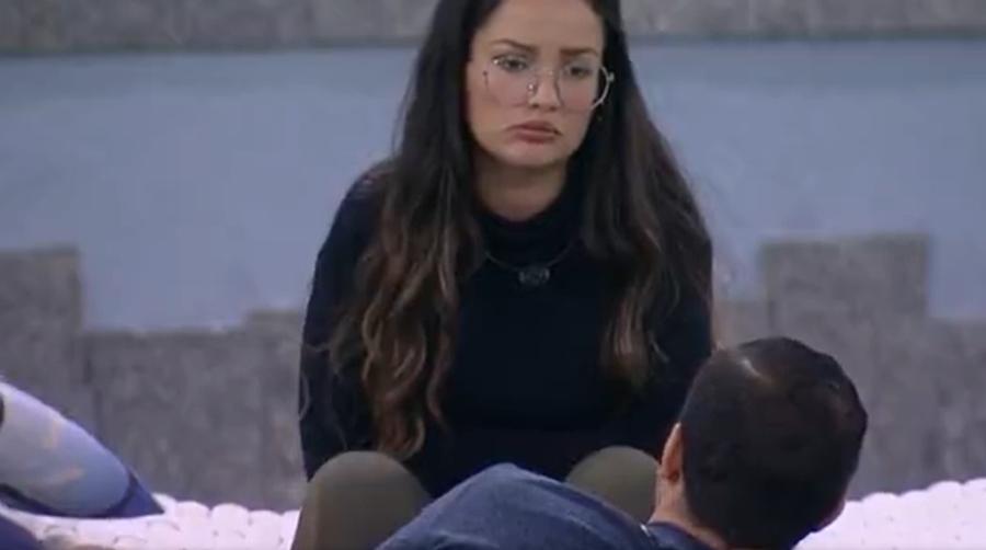 Juliette e Gilberto conversaram sobre suas relações dentro do jogo. (Foto: Reprodução/ Globo)