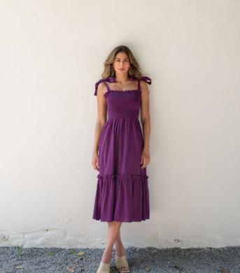 Os vestidos longos realçam a beleza da influencer (Foto: Instagram/ @marigonzalez)