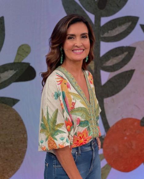 O programa de Fátima ainda conta com uma grande audiência (Foto: Instagram/ @fatimabernardes)