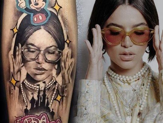 Manu Gavassi fez história no BBB20 e virou tatuagem (Foto: Instagram)