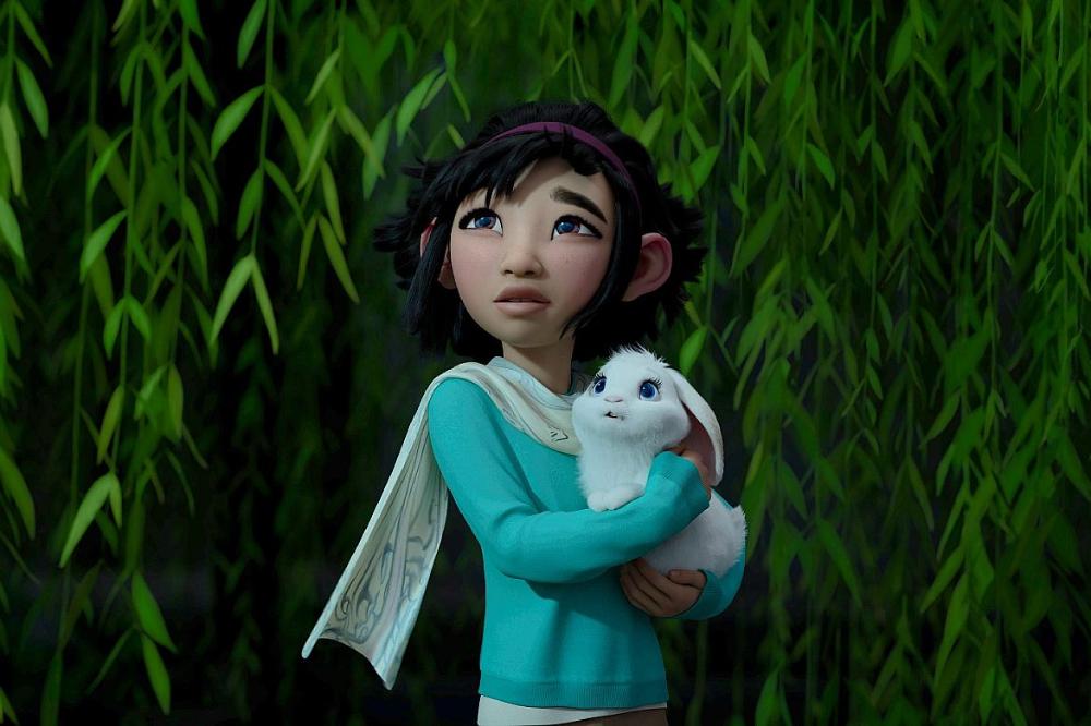 Chegando ao seu destino a jovem descobre criaturas fantásticas que a ajudarão a completar sua missão e retornar para a terra sã e salva. (Foto: Reprodução/ Pinterest)